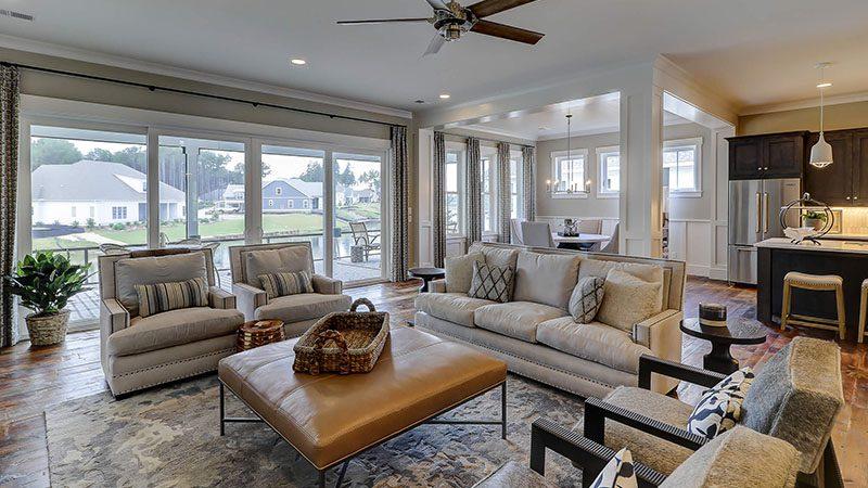 Shoreline Construction Living Room