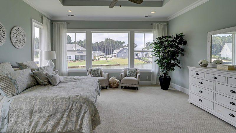 Custom Homes Bed Room